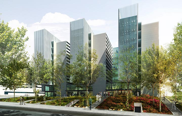 Bg studio architecture and design hospital la fe - Nueva fe de valencia ...