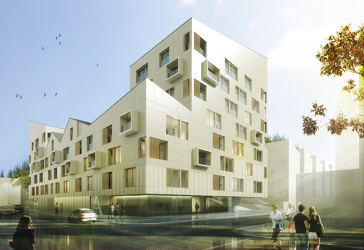 bg studio architecture and design lot b4 bordeaux france. Black Bedroom Furniture Sets. Home Design Ideas
